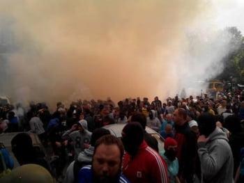 Confruntari in Odessa
