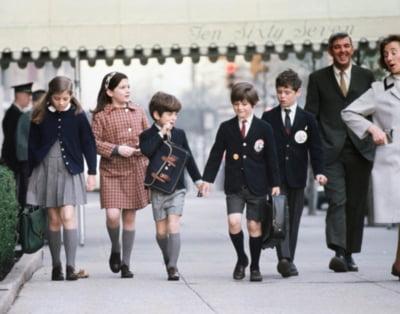 copii JFK poze arhiva