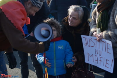 copil protest miercuri