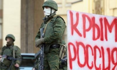 Crimeea soldati Rusia