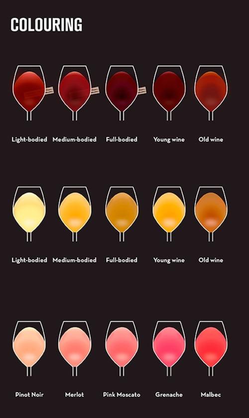 Culoarea vinului
