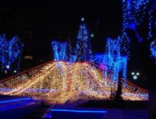 de interes local - S-au aprins luminile de sarbatoare la Petrosani