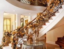 decoratiuni aurii Craciun