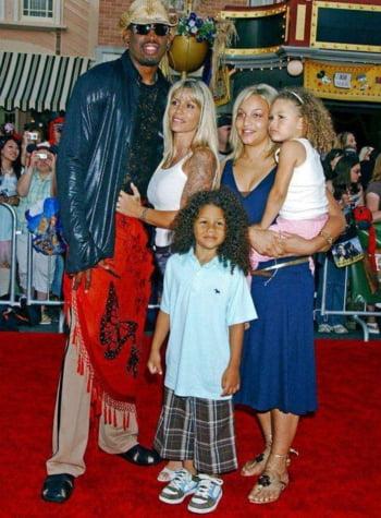 Dennis Rodman copii