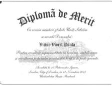 diploma Ponta Rosia Montana
