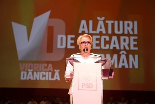 Discurs Dancila la congresul din august