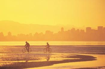 English Bay Beach Vancouver Canada