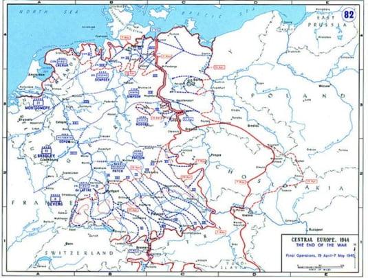 Europa centrala sfarsitul razboiului