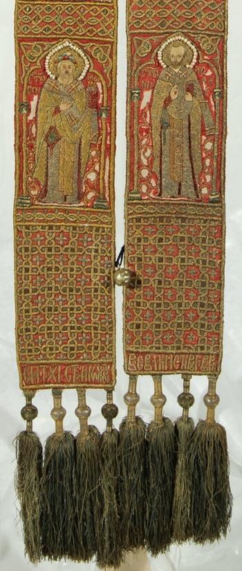 expozitie Broderii de traditie bizantina din Romania