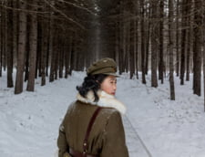 femeie militar Coreea de Nord
