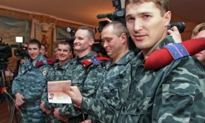 """Fost agent al politiei ucrainene """"Bercut"""", laudandu-se cu pasaportul rusesc la Simferopol"""
