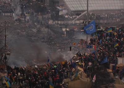Fum Piata Independentei Kiev