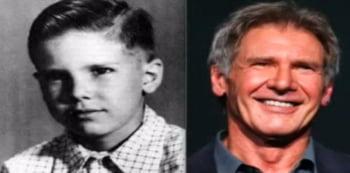 Harrison Ford copil poza veche