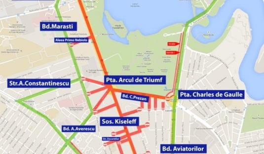 Restrictii Rutiere In Weekend Pentru Parada De 1 Decembrie Din