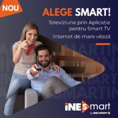 iNES GROUP lanseaza pachetul iNES Smart cu aplicatie TV si Internet