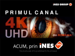 iNES GROUP lanseaza primul canal TV 4K/Ultra HD din Romania