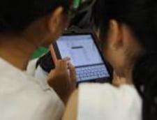 iPad in loc de caiet, la scoala