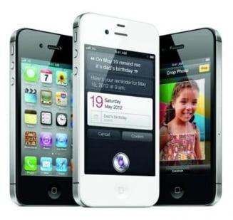 iPhone 4S, succes rasunator in primele ore de la lansare