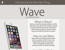 iPhone 6 se incarca in cuptorul cu microunde! Zau?