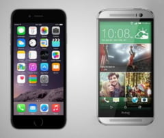 iPhone 6 vs HTC One M8 - Care este mai performant? (Video)
