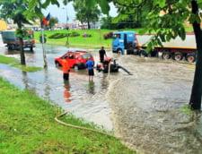 imagini inundatii Neamt