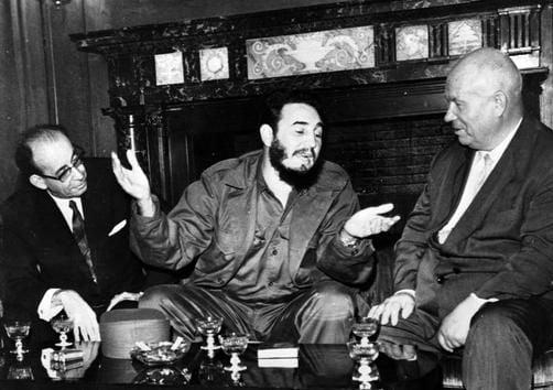 Imagini memorabile cu Kennedy, Hrusciov si Castro, in criza din 1962 (Galerie foto)