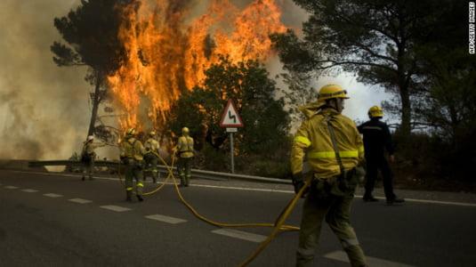 Incendiu Spania1