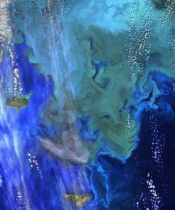 Insulele Pribilof spatiu
