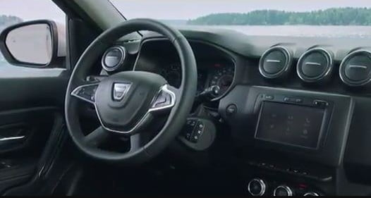interior Dacia Duster
