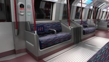 interior metrou londra