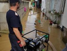inundatii Gorj pompieri interventie