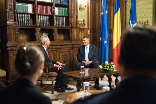 Iohannis discutii ambasador SUA Bucuresti