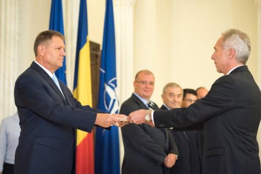 Iohannis primire ambasador SUA Bucuresti