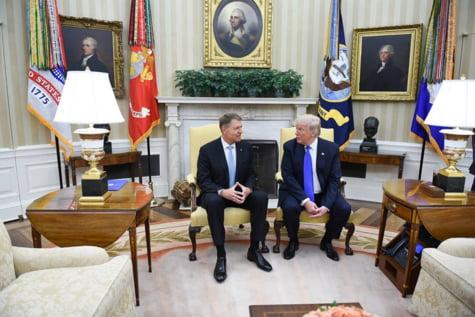 Iohannis Trump Biroul Oval