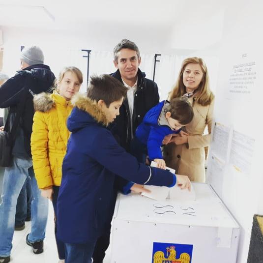 Ionel Danca a votat