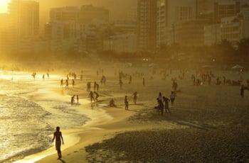 Ipanema Rio de Janeiro Brazilia plaja