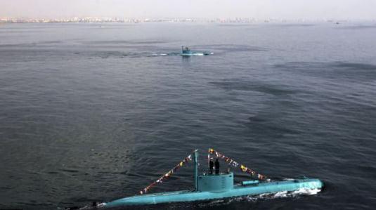 Iranul si-a lansat noile submarine: Se pregateste de razboi? (Galerie foto)