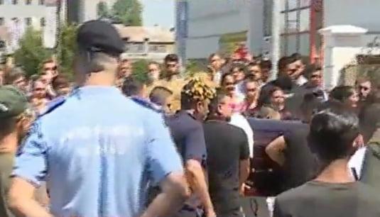 Jandarmeria la pirveghiul lui Florin Salam