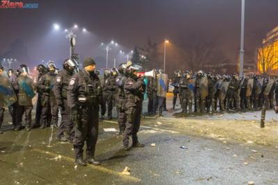 jandarmi protest