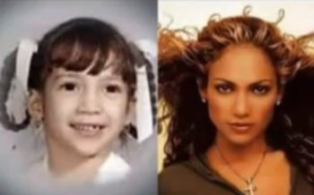 Jennifer Lopez copil poza infatisare