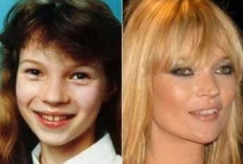 Kate Moss copil adolescenta imagini