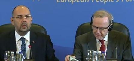 Kelemen Hunor Wilfried Martens