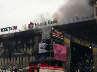 Kiev Ucraina violente