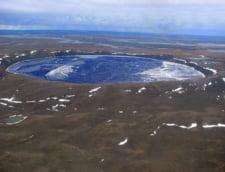 lac crater Quebec Canada