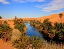 lac desert Sahara