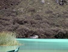 lacul glaciar Llanganuco