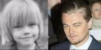 Leonardo DiCaprio copil infatisare