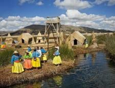 lucuitori imprejurimi Titicaca locuinte stuf