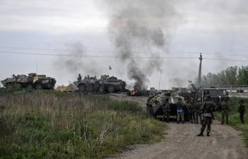 Lupte in Slaviansk