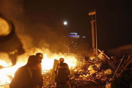 Maidan incendiu